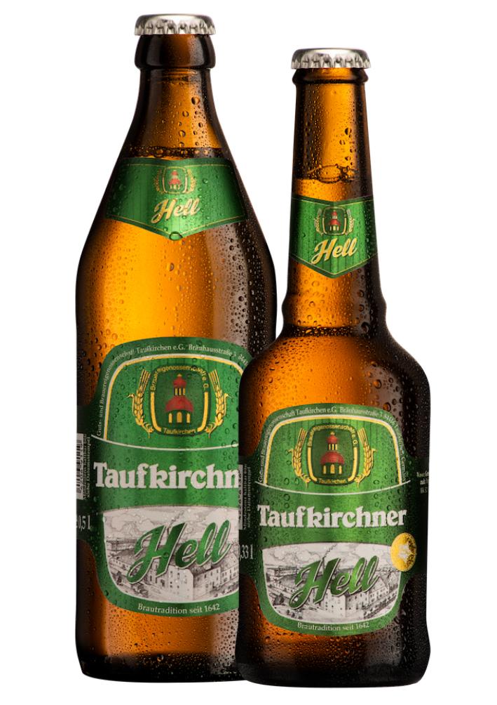 Taufkirchner Hell 0,5l und 0,33l