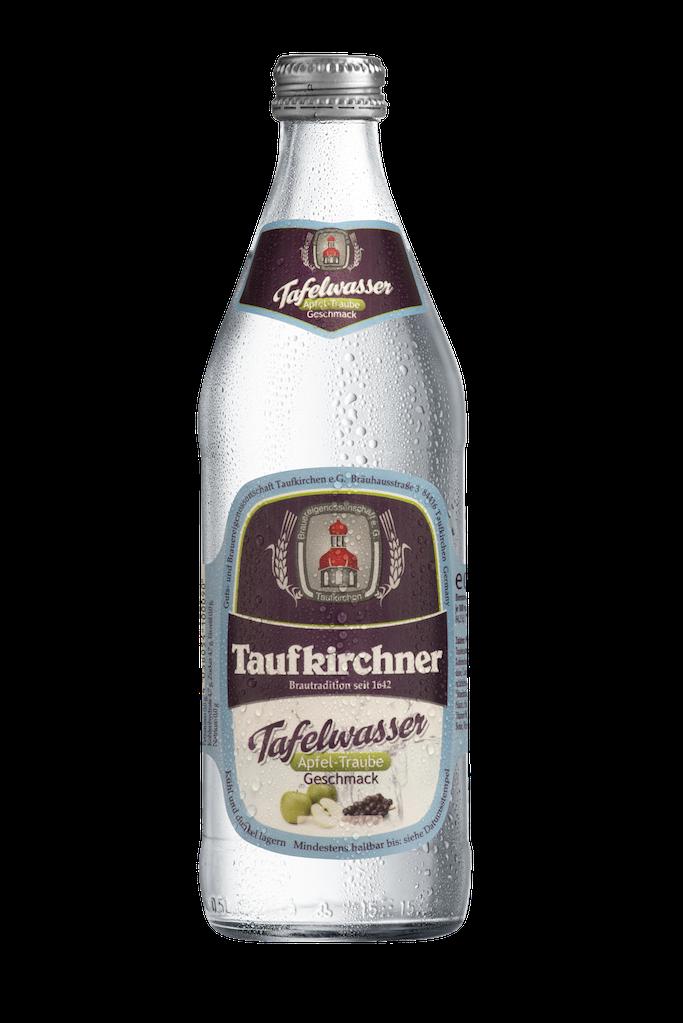 Taufkirchner Tafelwasser Apfel Traube