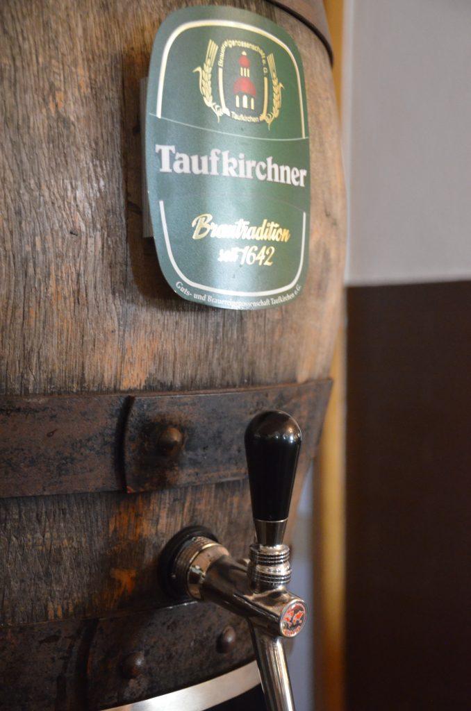 Bierfass im Bräustüberl