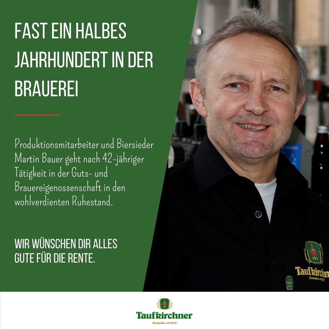 Newsmeldung Ruhestand Bauer